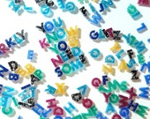 Custom Alphabet Letter Numbers Cabochons Acrylic Cabs Jewelry Making Phone Case Decoden Multi Media Scrap Booking Card Making A2