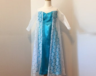 Elsa from Frozen dress up to size 6x