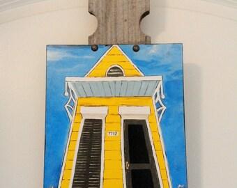 New Orleans Shotgun House 2