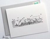 Salt Lake City, Utah - United States - Skyline Series - Folded Cards (6)