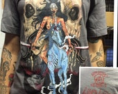 Kill Hatsumomo/ Dark Matter Coffee blood lord t shirt size LARGE