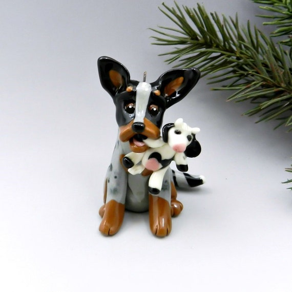 Australian Cattle Dog Christmas Ornament by TheMagicSleigh ...
