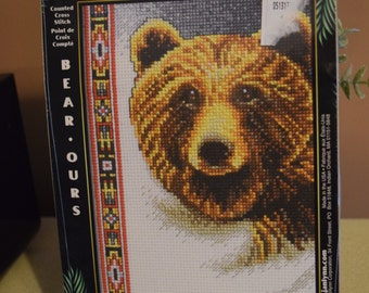 SALE!  Cross stitch kit and two booklets