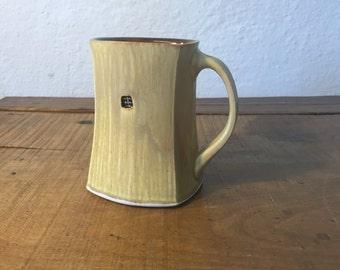 Square Mug - tan