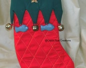 Kitty cat Christmas stocking for your pet or a big time cat lover