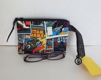 Star Wars - Zip Pouch - Star wars pouch - Star wars zip bag