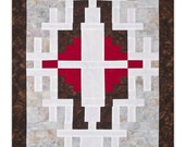 Two Red Hills Art Quilt