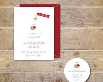 Christmas Card Save The Date, Save The Date Christmas Card, Wedding Save The Date, Holiday Card, Save The Date, Christmas Cards