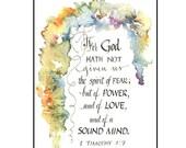 Handmade Christian Greeting Card gift for her