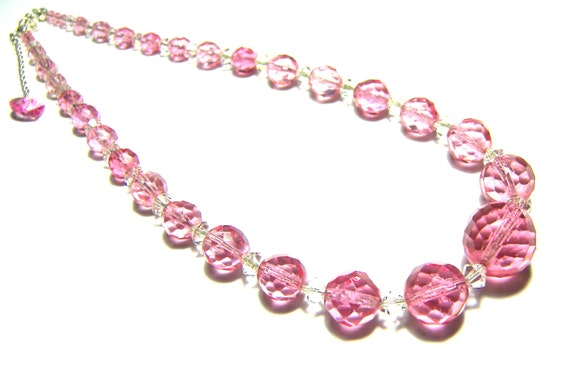 Rose Necklace Crystal Statement Necklace Fine Jewelry Statement Jewelry Popular Jewelry Beaded Necklace Gift Ideas