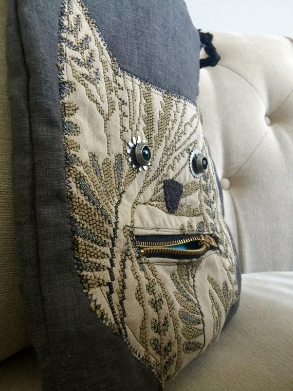 whimsical cat handbag
