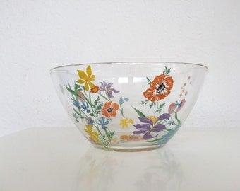 Floral DorothyThorpe Bowl