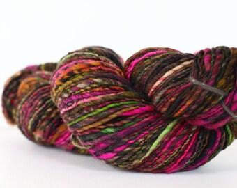 Sheherazade 264 yards [Handspun] Targhee yarn, superwash single