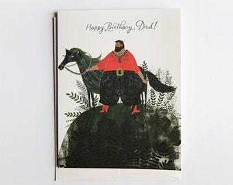 Happy Birthday Dad - Lumberjack Card