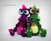 Crochet Dragon - PDF Amigurumi Pattern.