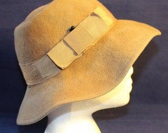 Vintage Liz Claiborne Wool Hat, Made in France, 1970's
