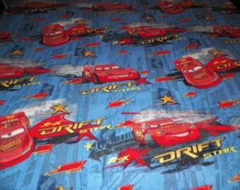 Cars Lightning McQueen Fleece Blanket