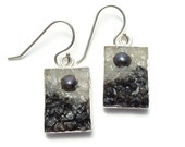 Mosaic Jewelry -   Pearl, Moonstone and Labradorite Drop Earrings