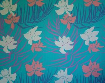 3+ Yards Vintage Copacabana Hoffman California Fabrics 1987