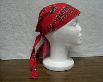 Tampa Bay Buccaneers Skull Cap Do-Rag NEW