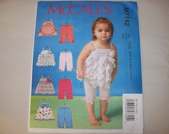 New McCall's  Baby Clothes Pattern, M7142 (Free US Shipping)