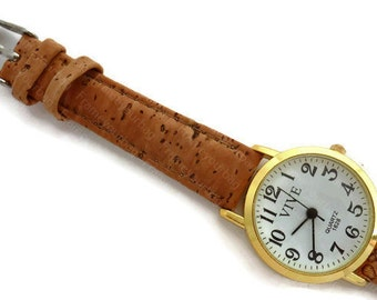 Watch with Cork bracelet W019