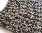 Crocheted Crop Top