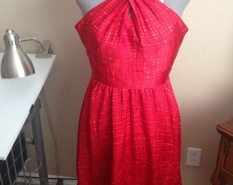 Red bombshell dress size 8