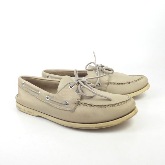 boat shoes vintage 1980s sperry topsider by