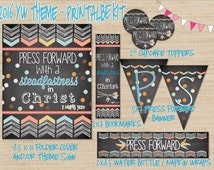 """LDS Young Women Theme 2016 - """"Press Forward with a Steadfastness in Christ."""" - Printable Kit"""