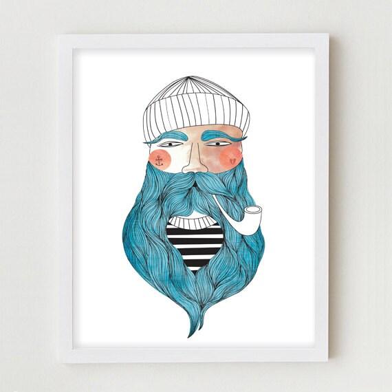 Sailor Beard Drawing Drawing Sailor Beard