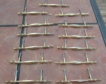 Set of 13 Cast  Metal  Drawer Pulls
