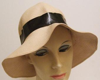 1920's Panama Widebrim Women's Cloche