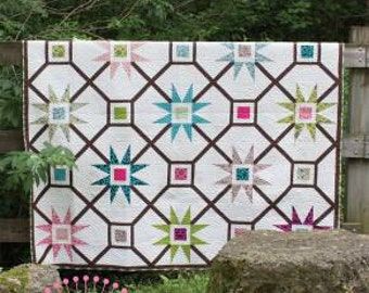 Cosmic Delight Sewing Quilt Pattern Freckled Whimsy