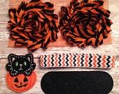 DIY Headband Kit- Halloween Headband Kit- Makes 1 headband, Do it Yourself- Feltie Halloween Headband- Baby Headband Kit- DIY Supplies