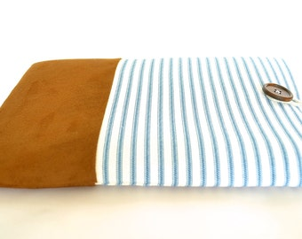 Nautical Mac Book Air 13 inch Mac Book Sleeve Lap top Case Padded