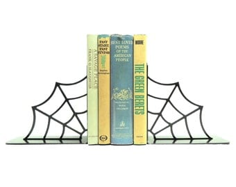 Spiderweb Bookends