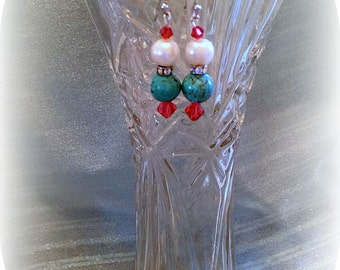 Pearl Fantasy collection drop earrings