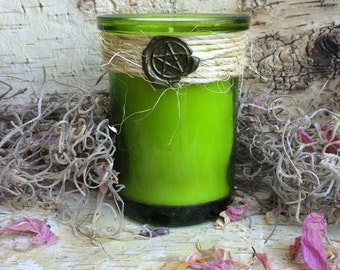 Rita's Witches Aromaspa™ Candles - SOULFUL - Gain Wisdom, Understand Soul Urges, Heartfelt Insight