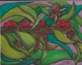 Ladybugs & Frogs