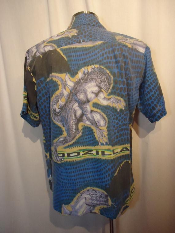 Godzilla Shirt Size Large