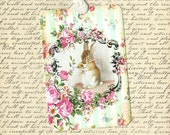 Tags, Rabbit Gift Tags, Beatrix Potter, Gift Tags