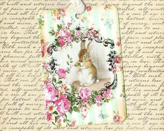 Tags, Rabbit Gift Tags, Beatrix Potter, Gift Tags