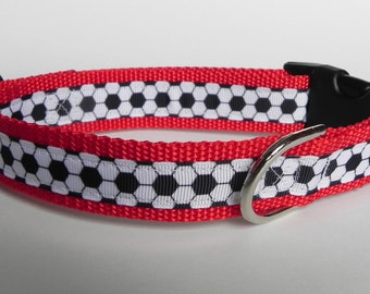 Soccer Ball Dog Collar
