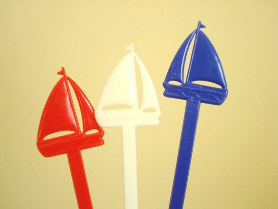 Boat Swizzle Sticks