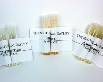 Perfume Oil Samples