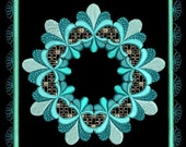 LOVELY BAROQUE BLOCKS - 36 Machine Embroidery Designs Instant Download 4x4 5x7 6x10 hoop (AzEB)