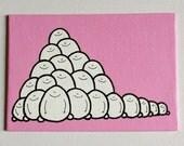 Acryl auf Leinwand Board - Original - Cheps