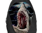Mako Shark Attack Painting Art Backpack School Bag Back To School hiking