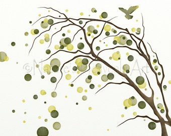 Lime Green Wall Decor lime green decor | etsy